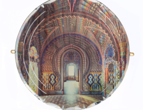 Peacock Castle on Mirror