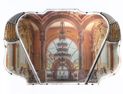 Casino on Bakelite Mirror